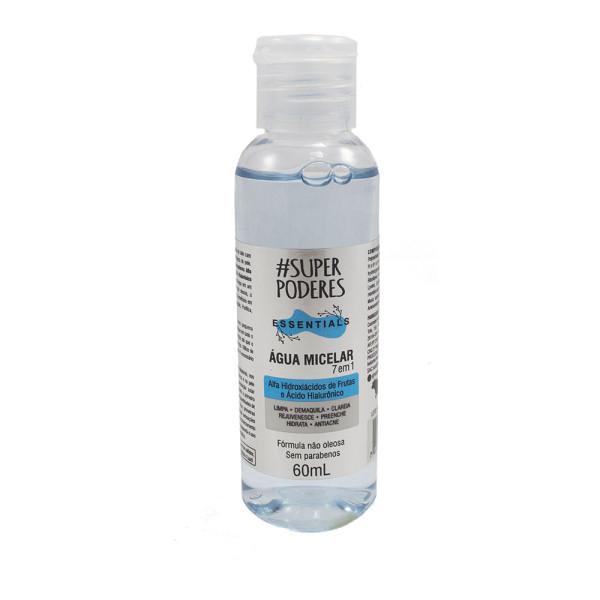 Água Micelar 7 em 1 Essentials Alfa Hidroxiácidos de Frutas e Ácido Hialurônico Super Poderes
