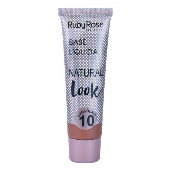 Base Líquida Natural Look Chocolate HB-8051 Ruby Rose - Cor C10
