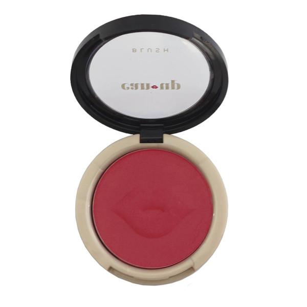 Blush Facial Compacto Can-Up Cosmetics - Rubro