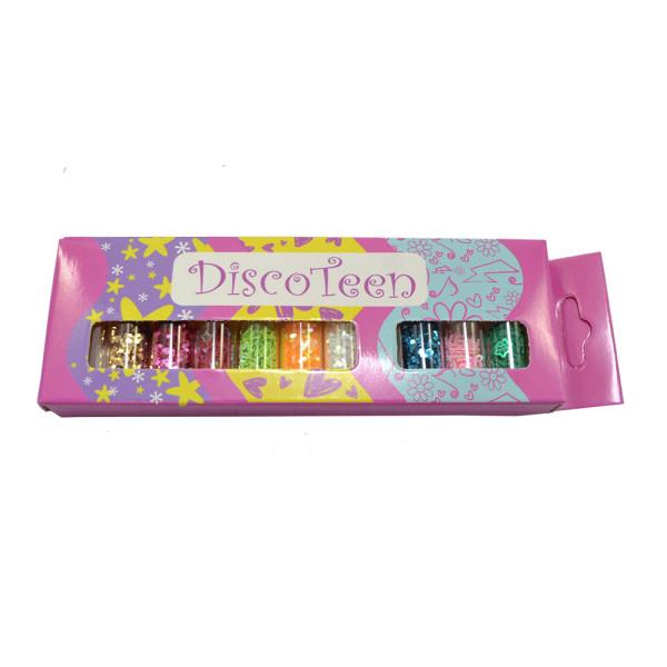 Kit Enfeites para Unhas Disco Teen HB97845