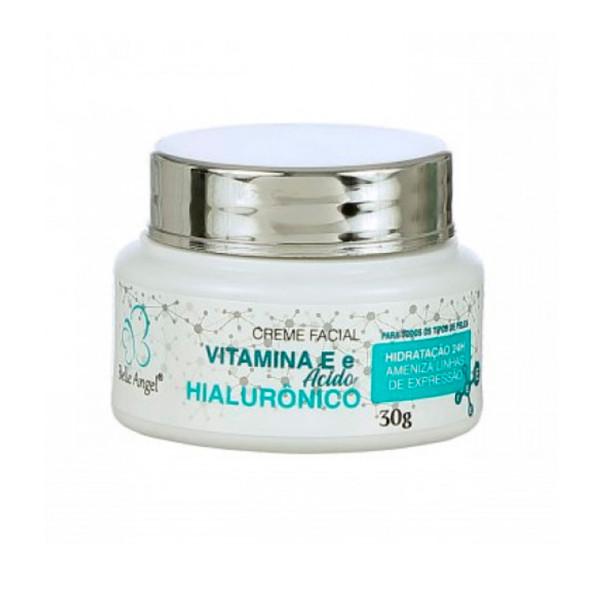 Creme Facial Vitamina E e Ácido Hialurônico Belle Angel I015