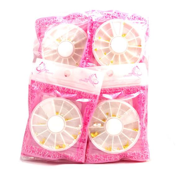 Decorativo para Unhas Miss Frandy ACU17-0426 - Pacote com 12 unidades
