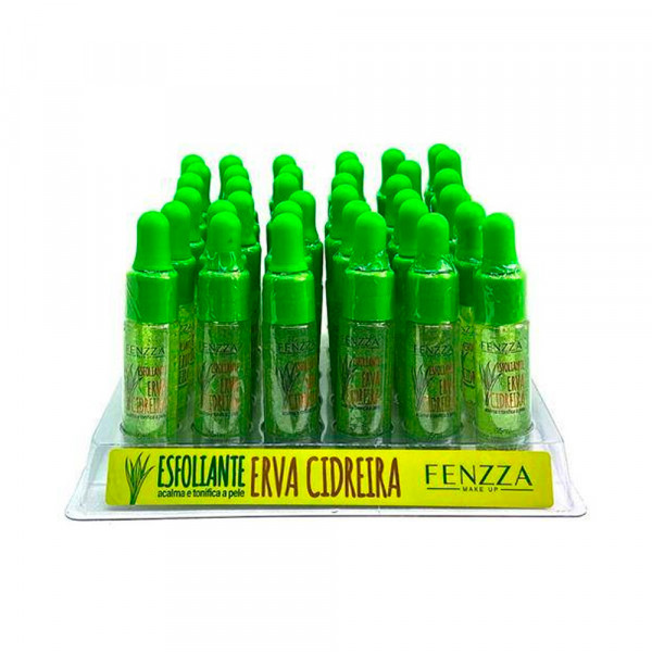 Esfoliante Erva Cidreira Fenzza FZ58008 - Display com 36 unidades