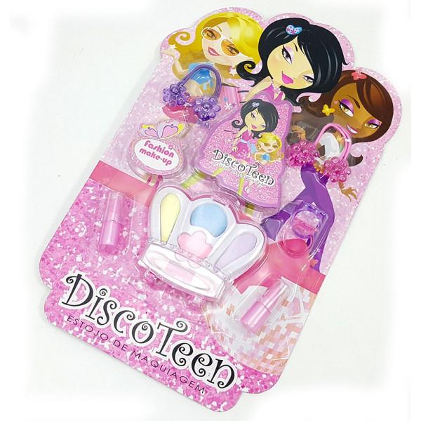 Estojo de Maquiagem Infantil Disco Teen HB86507A