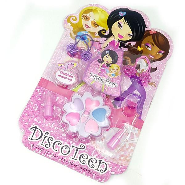 Estojo de Maquiagem Infantil Disco Teen HB86507C