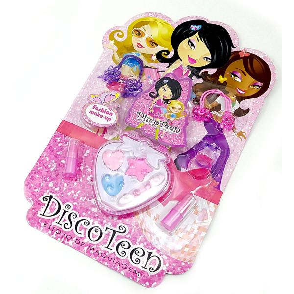 Estojo de Maquiagem Infantil Disco Teen HB86507D