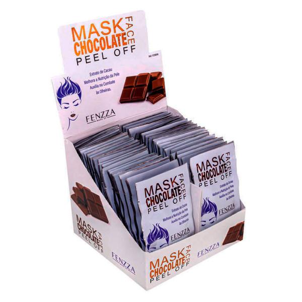 Máscara Facial Chocolate Mask Sachê 10g Fenzza FZ38018 - Display com 50 unidades