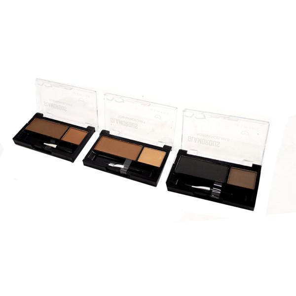 Duo de Sobrancelha Glamorous Jasmyne JS0207 - Kit com 3 unidades em Cores Sortidas