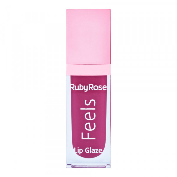 Gloss Labial Lip Glaze Feels Ruby Rose HB-8227 Cor 083