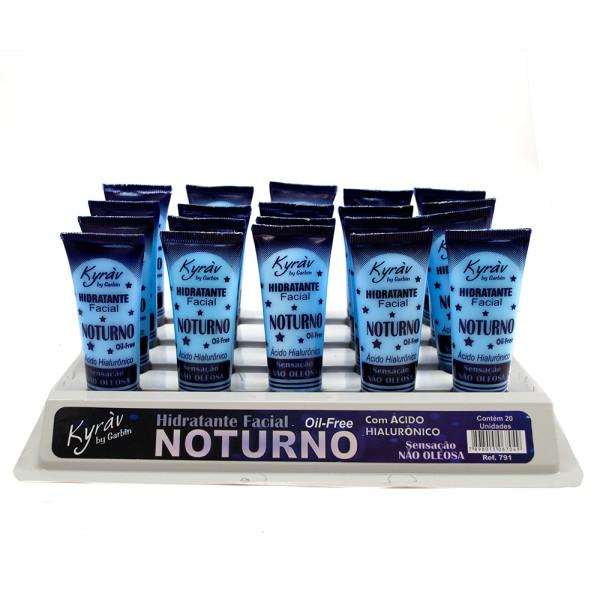 Hidratante Facial Noturno - Display com 20 unidades