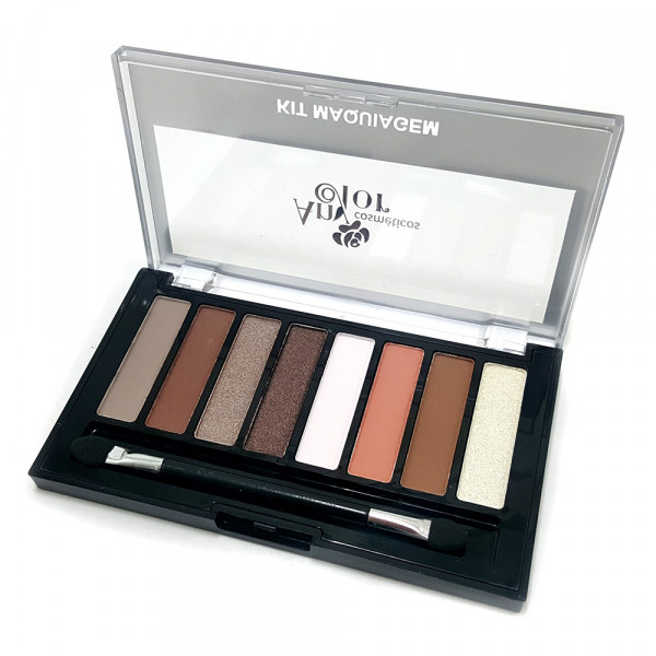 Paleta de Sombras 8 Cores Nude Fashion Any Color 1803