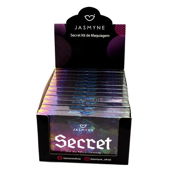 Kit de Maquiagem Secret Jasmyne JS1005 - Display com 12 unidades