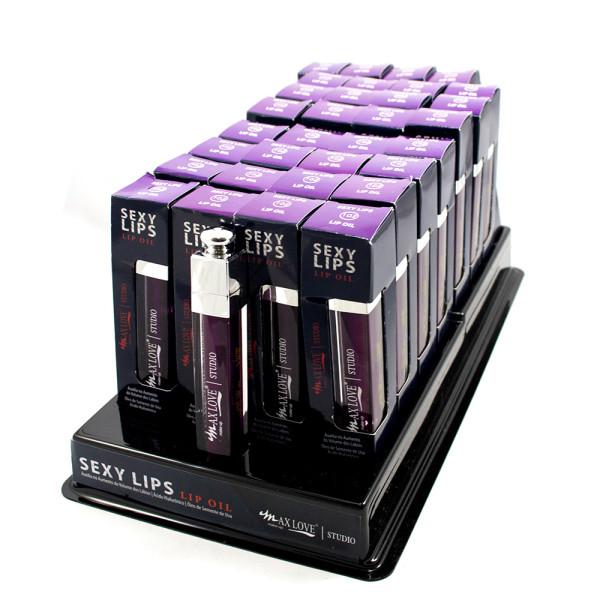 Lip Oil Sexy Lips Max Love - Cor 102 - Display com 32 unidades