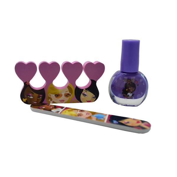 Kit Manicure Infantil Art Collection Disco Teen HB96756