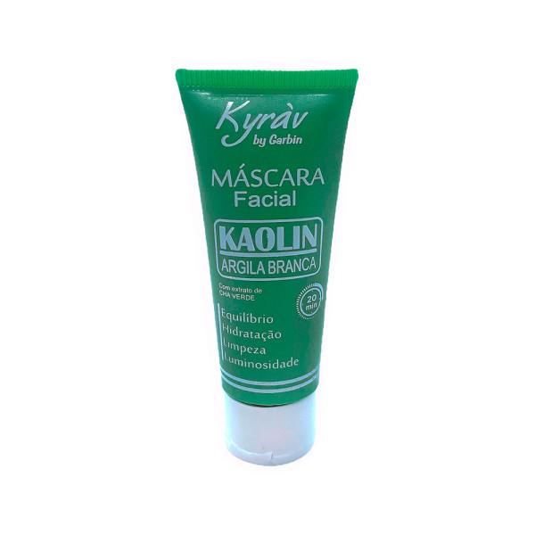 Máscara Facial Argila Branca Kaolin + Chá Verde Kyràv