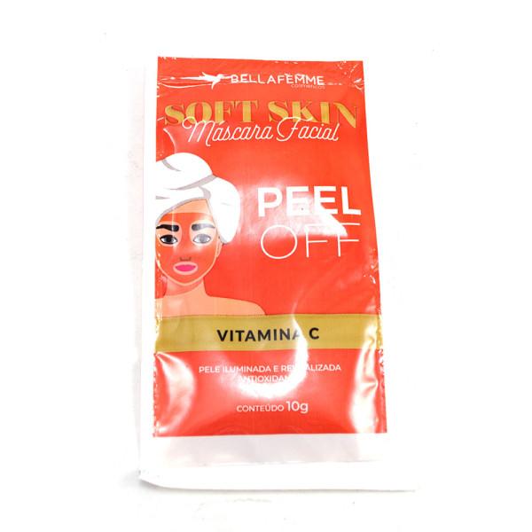 Máscara Facial Peel Off Vitamina C Soft Skin Bella Femme SS80016