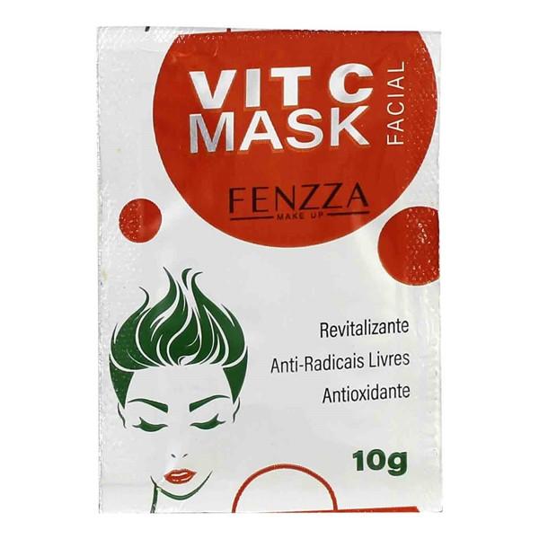 Máscara Facial Vit C Mask Sachê 10g Fenzza FZ38005