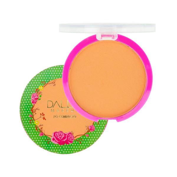 Pó Compacto Vegano Micronizado Dalla Makeup DL0206 - Cor 07
