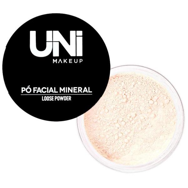 Pó Facial Mineral Loose Powder UNIMakeup - Cor 01
