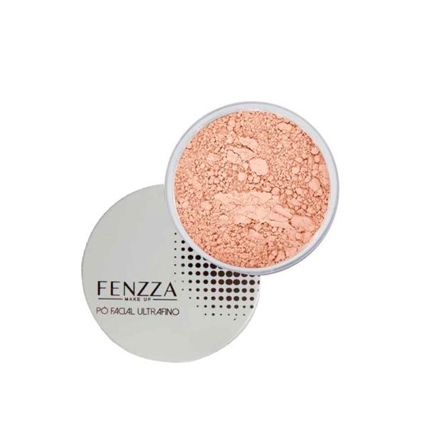 Pó Facial Ultrafino Fenzza FZ34010 - Bege Claro