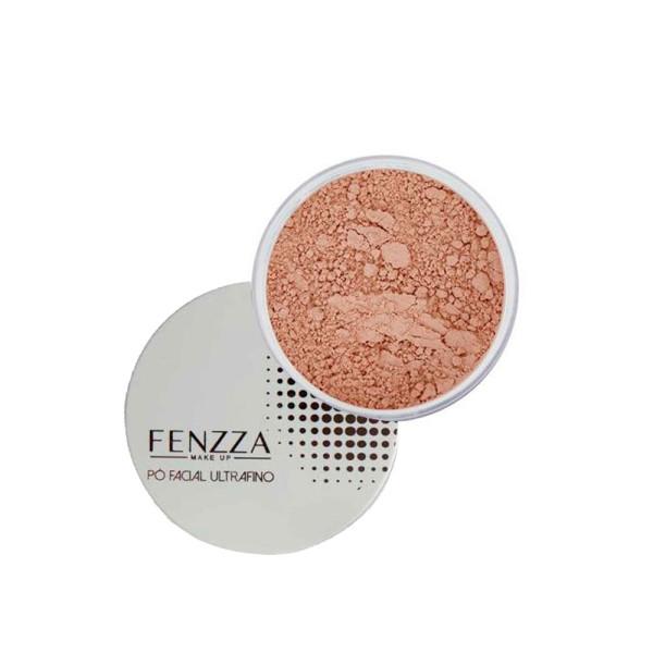 Pó Facial Ultrafino Fenzza FZ34010 - Bege Médio