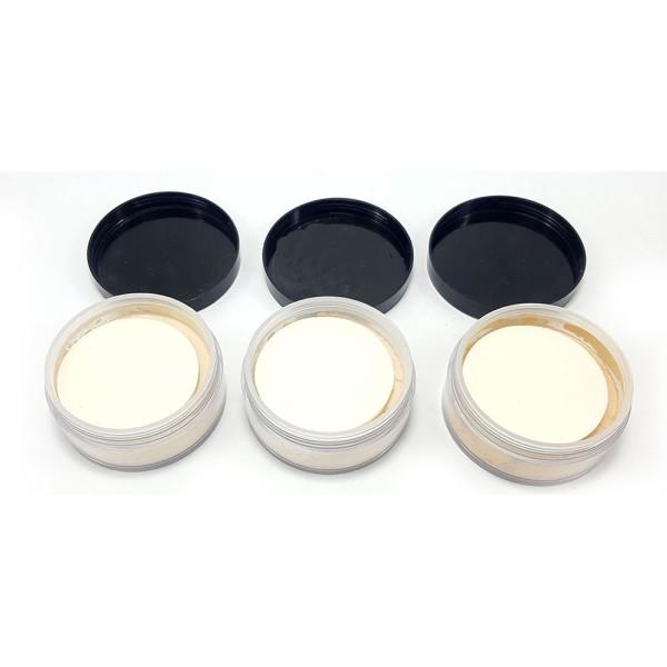 Pó Facial Translúcido Microfinish Playboy PB1033 - Kit com 3 unidades em Cores Sortidas