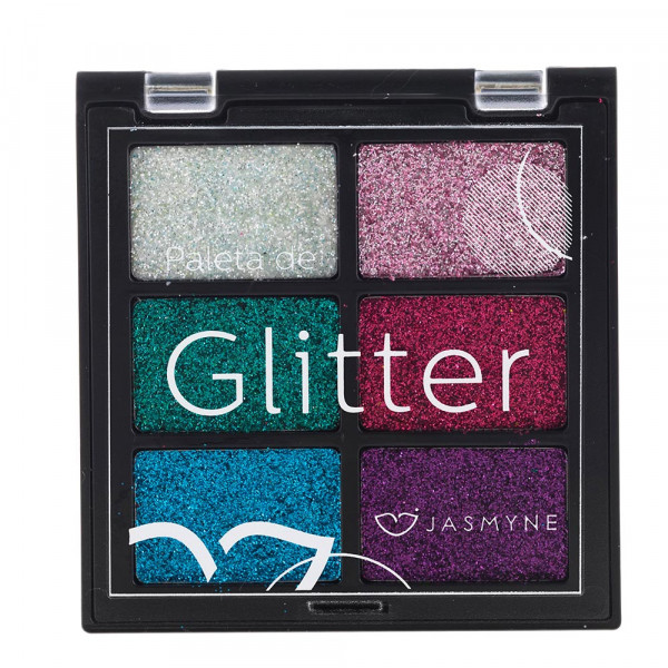 Paleta de Glitter Jasmyne JS00031-A