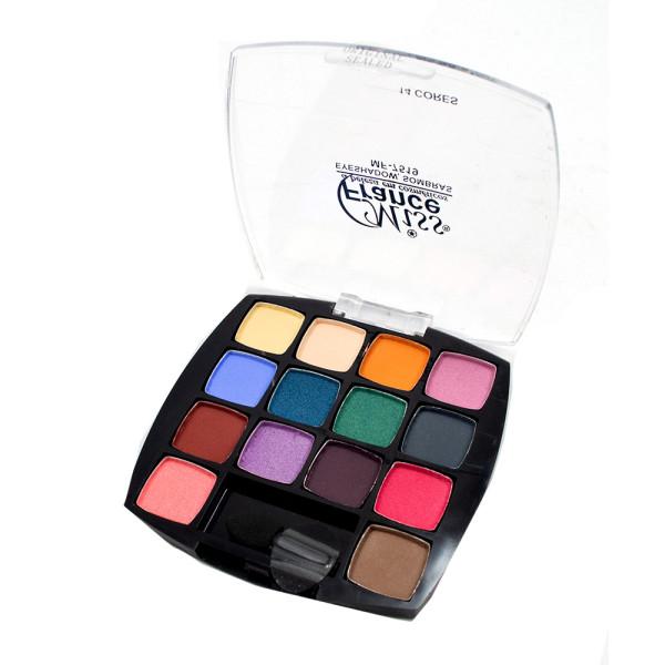 Paleta de Sombras 14 Cores Fashion SP Colors SP112-A