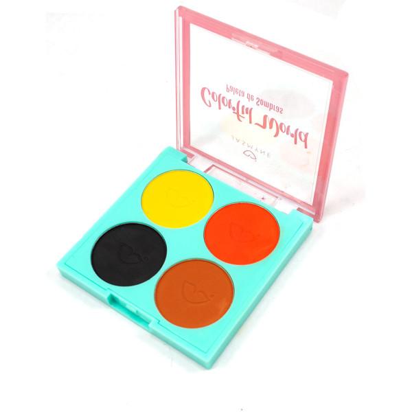 Paleta de Sombras Colorful World Jasmyne JS01051-A