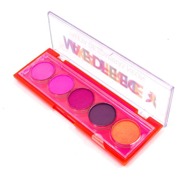 Paleta de Sombras Neon Color Your Life Playboy PB1070-1