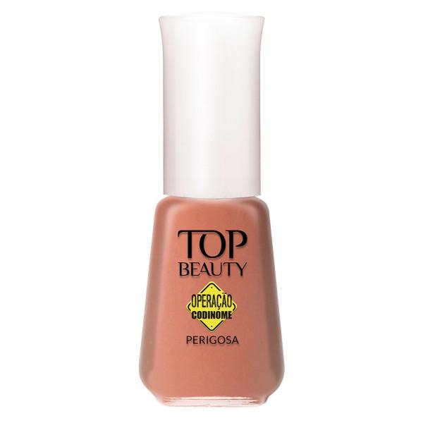Esmalte Top Beauty Cintilante Perigosa