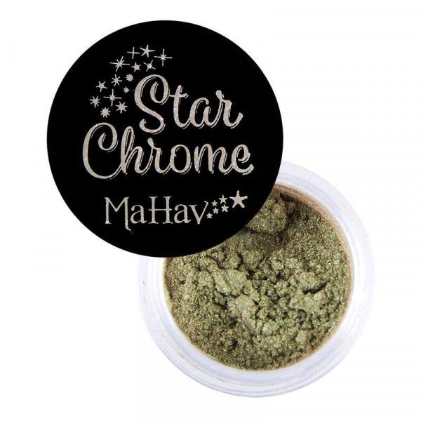 Pigmento Star Chrome Mahav - Cor Golden Pistache