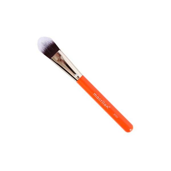 Pincel Profissional Língua de Gato para Base Linha Beauty Tools Macrilan BT07