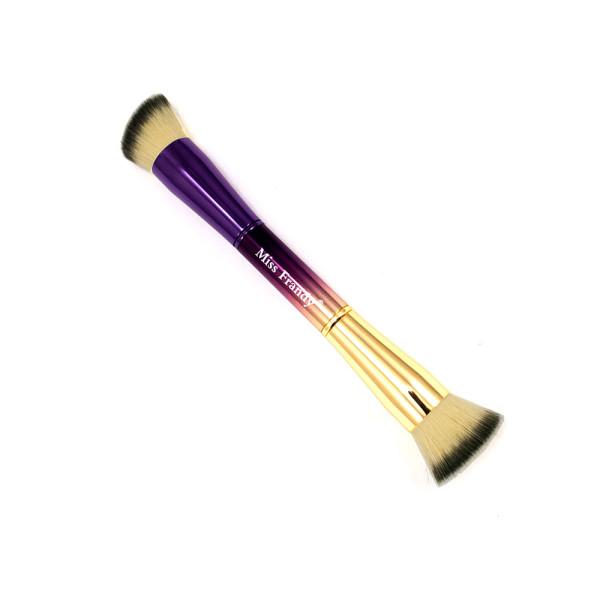 Pincel Duplo para Maquiagem Linha Camaleão Miss Frandy PM17-31102