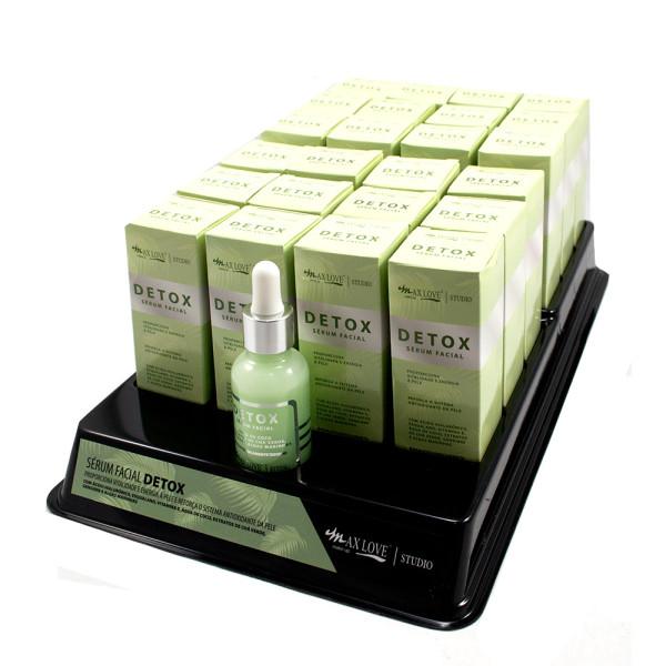 Sérum Facial Detox Max Love - Display com 24 unidades