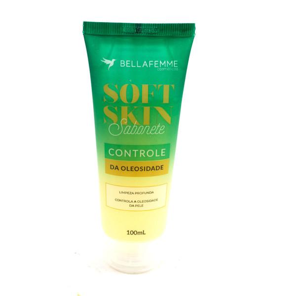 Sabonete Controle da Oleosidade Soft Skin Bella Femme SS80009