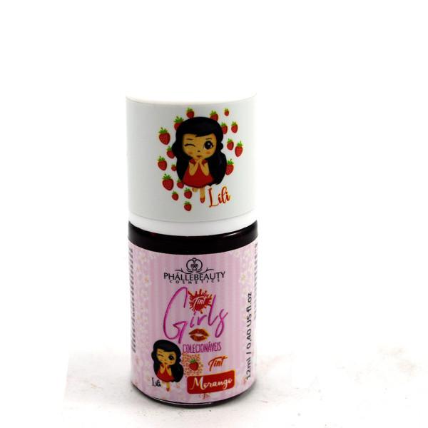 Lip Tint Girls Colecionáveis PhálleBeauty PH011 - Morango
